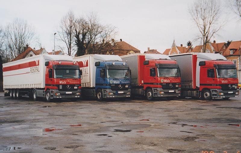 Die Flotte der zweiten Firmengeneration